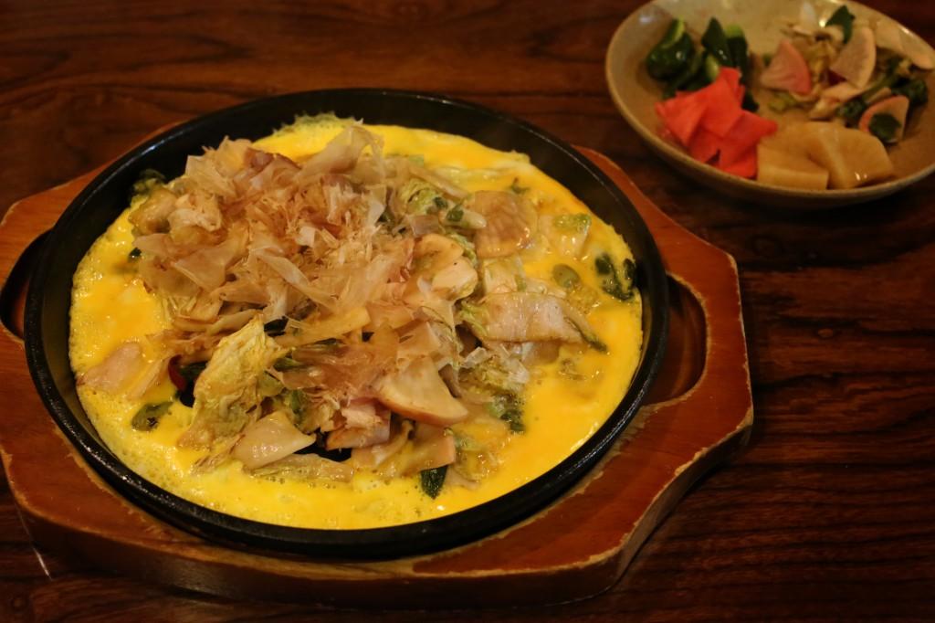 Tsuke-mono steak