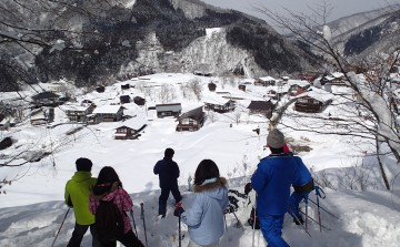 SATOYAMA SNOWSHOEING