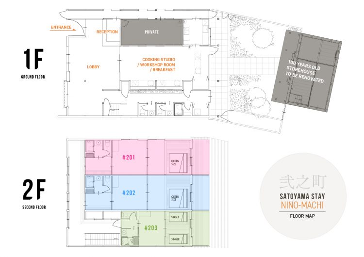 SATOYAMA STAY NINO-MACHI Floor Map