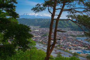 View of Hida Furukawa